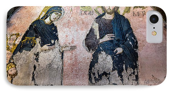 Virgin Mary And Jesus IPhone Case