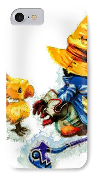 Vivi And The Chocobo IPhone Case