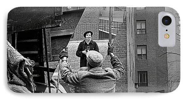 Vivian Maier Self Portrait Probably Taken In Chicago Illinois 1955 IPhone Case