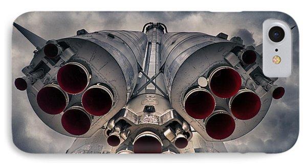 Vostok Rocket Engine IPhone Case