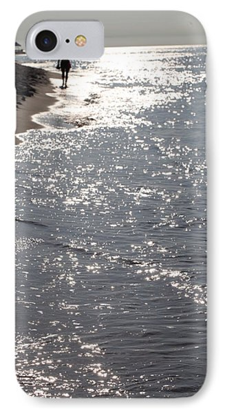 Wading At The Beach IPhone Case