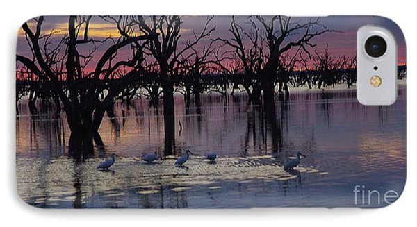Wading The Shallows IPhone Case