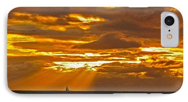 Waikiki Sun Set IPhone Case