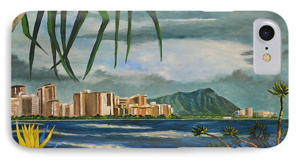 Waikiki View IPhone Case