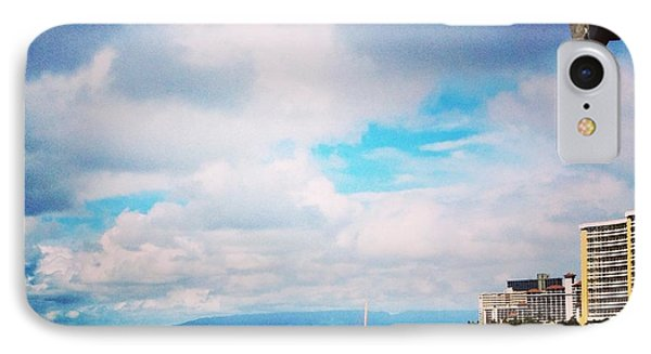 Waikiki Walls View IPhone Case