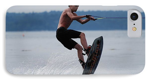 Wakeboarder IPhone Case