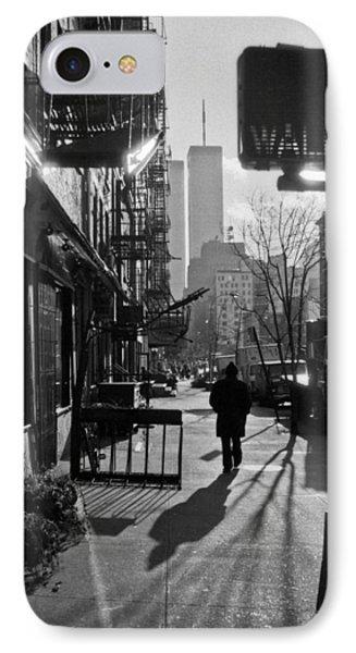 Walk Manhattan 1980s IPhone Case
