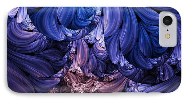 Walk Through The Petals Abstract IPhone Case
