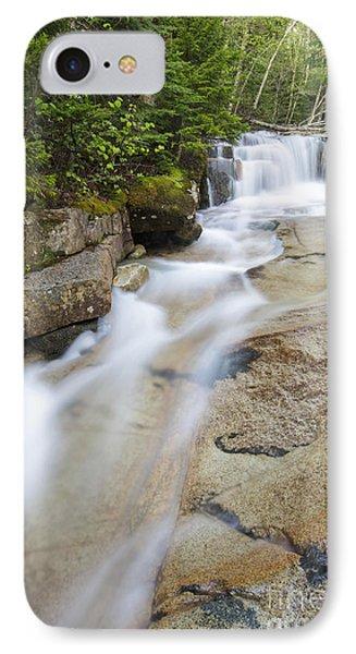Walker Brook Cascades - Franconia Notch State Park New Hampshire IPhone Case