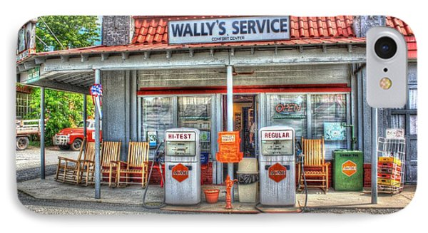 Wally's Service Station IPhone Case