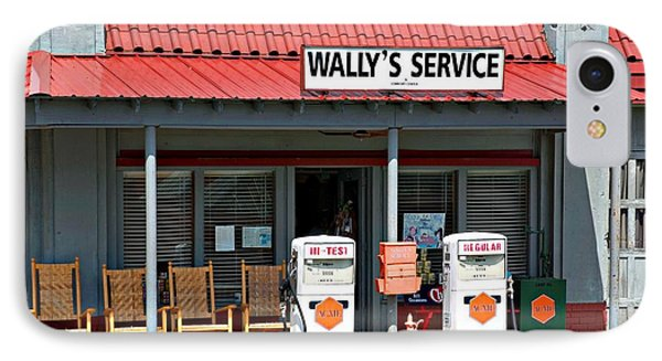 Wally's Service Station Mayberry Nc IPhone Case