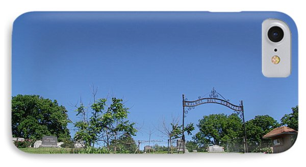 Walnut Hill Cemetery IPhone Case