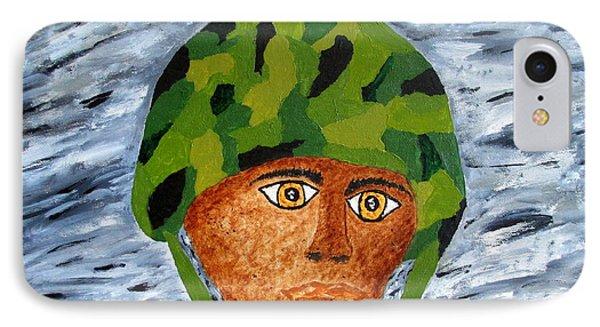War Eyes IPhone Case