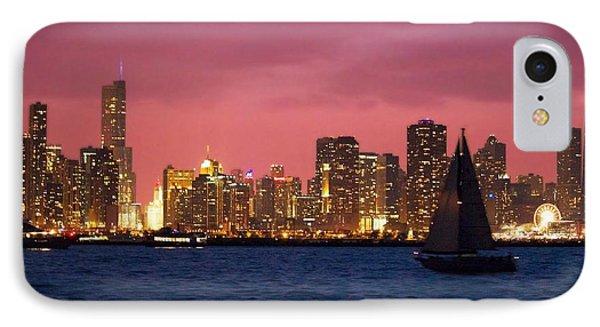 Warm Summer Night Chicago Style IPhone Case