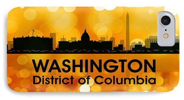 Washington Dc 3 IPhone Case