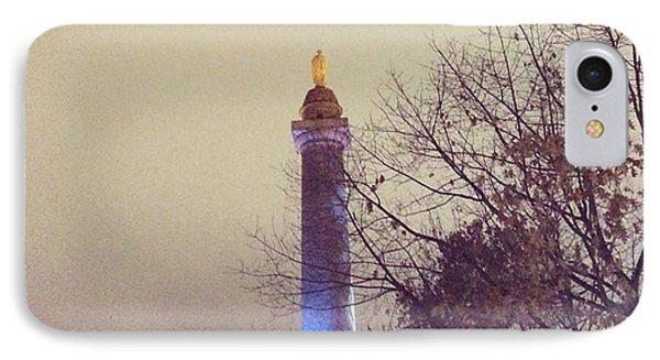 Washington Monumen Pre-lighting IPhone Case