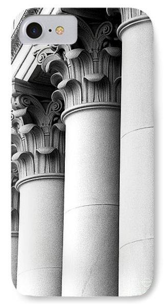 Washington State Capitol Columns IPhone Case