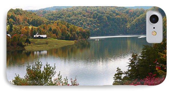 Watauga Lake Autumn IPhone Case