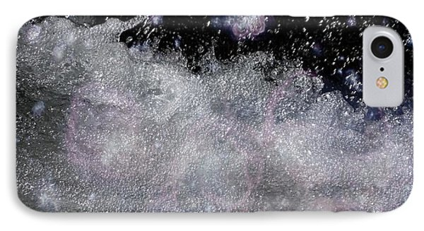 Water Flowing Into Space IPhone Case