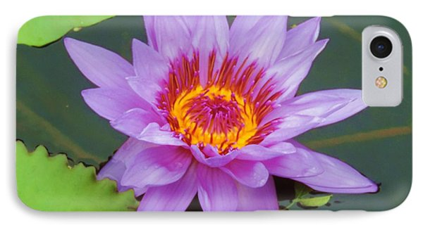 Water Lilies 005 IPhone Case