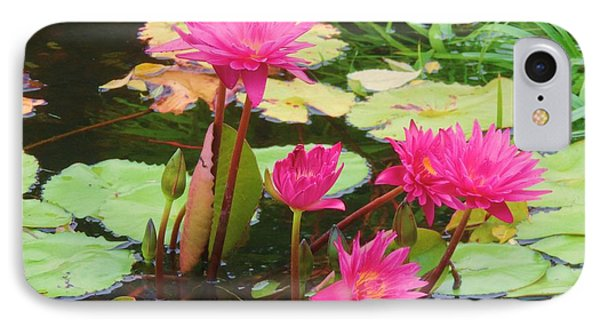 Water Lilies 008 IPhone Case