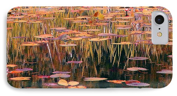 Water Lilies Re Do IPhone Case