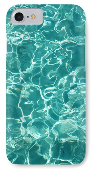 Water Meditation I. Five Elements. Healing With Feng Shui And Color Therapy In Interior Design IPhone Case