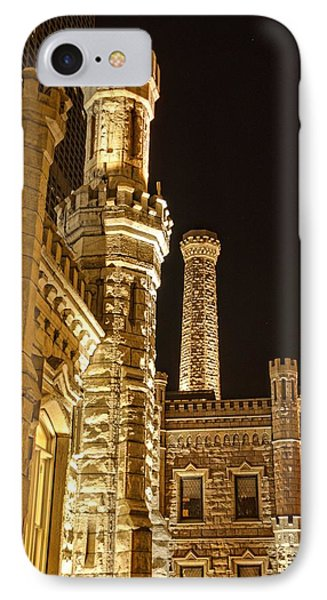Water Tower At Night IPhone Case