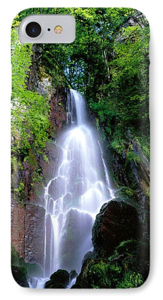 Waterfall Alsace France IPhone Case