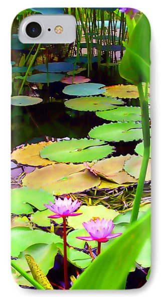 Waterlily Pond IPhone Case