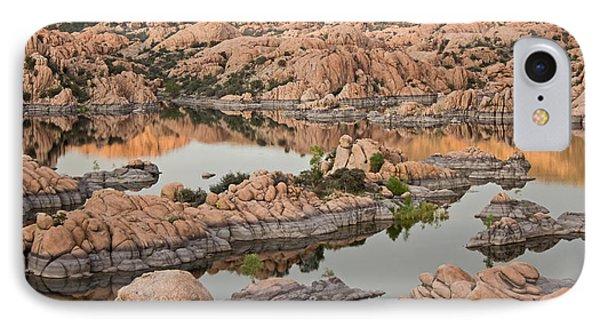 Watson Lake Sunset IPhone Case