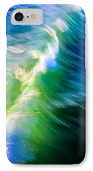 Wave Abstract Triptych 1 IPhone Case