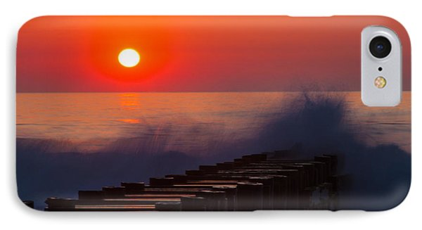 Breaking Wave At Sunrise IPhone Case
