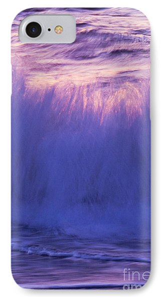Waves At Sunset IPhone Case