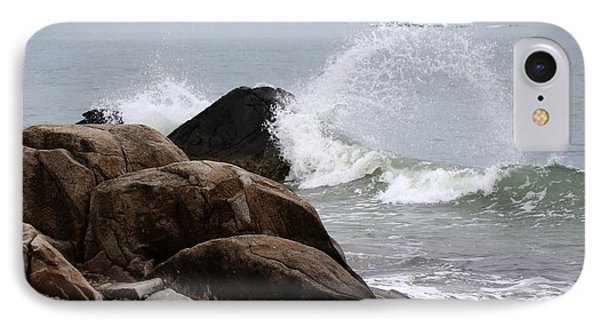 Waves Breaking IPhone Case
