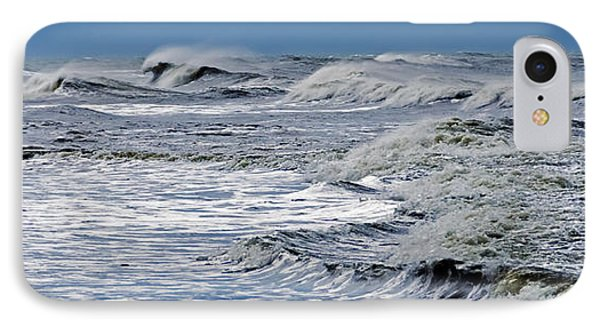 Waves Off Sandfiddler Rd Corolla Nc IPhone Case