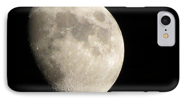 Waxing Moon IPhone Case