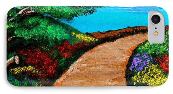 Way To The Sea IPhone Case
