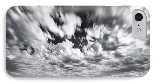 iPhone 8 Case - We Have Had Lots Of High Clouds And by Larry Marshall