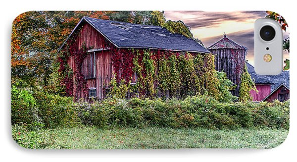 Weathered Connecticut Barn IPhone Case
