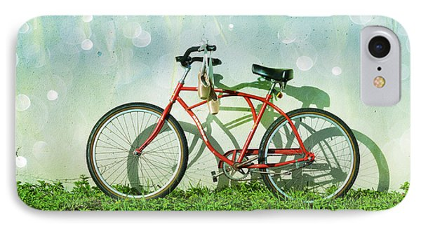 Bicycle iPhone 8 Case - Weekender Special by Laura Fasulo