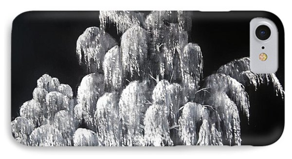 Weeping Willow In Ice IPhone Case