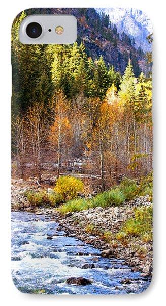 Wenatchee River - Leavenworth - Washington IPhone Case
