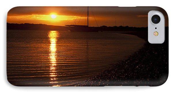 West Mersea Sunset IPhone Case