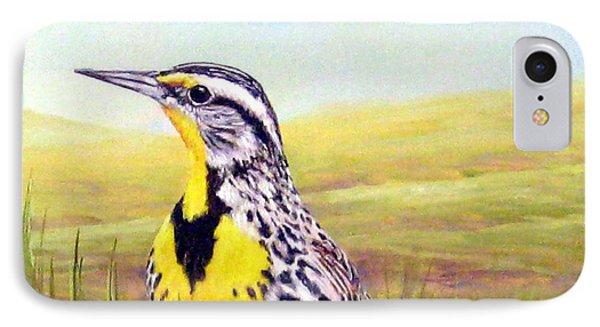 Western Meadowlark IPhone Case