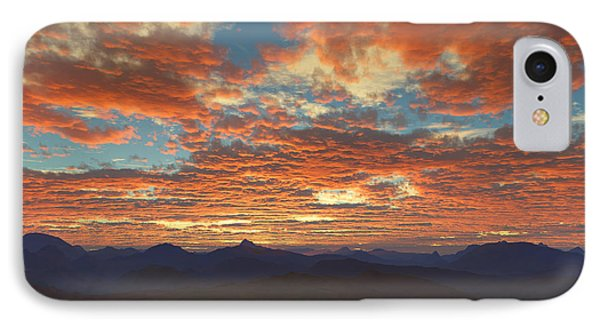 Western Sunset IPhone Case