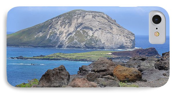 Whale Rock Formation IPhone Case