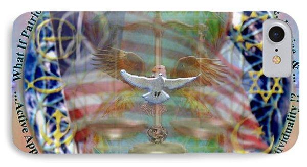 What If Balance Was Patriotism Lrg IPhone Case