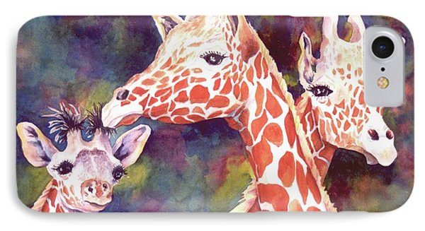 What's Up Dad - Giraffes IPhone Case