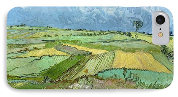 Wheat Fields After The Rain IPhone Case